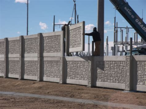 Quality Concrete Palisade Fencing Installation North West